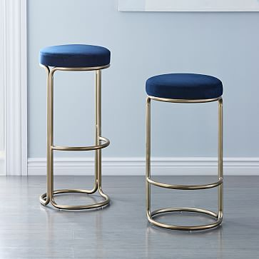 Inspired By 80s Glam Our Cora Bar Counter Stools Round Out