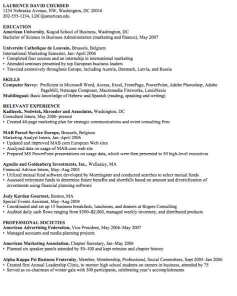 Concessionist Resume Sample - http\/\/resumesdesign - marketing analyst resume