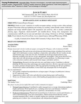 Resume Examples Young Adults Resume Templates And Examples