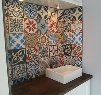 Encaustic Tiles Moroccan Tiles Uk Customer Reviews Patchwork Tiles Bathroom Patchwork Tiles Kitchen Moroccan Tile Bathroom