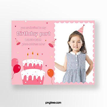 بطاقة دعوة حفلة عيد ميلاد للأطفال Childrens Birthday Party Birthday Party Invitations Childrens Birthday