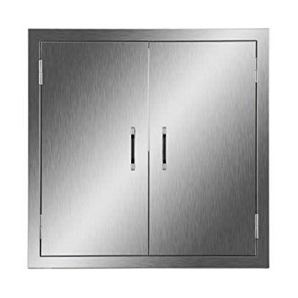 Outdoor Kitchen Storage Doors