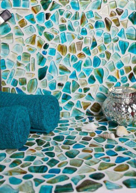 10 Best Sea Gl Backsplash Tile