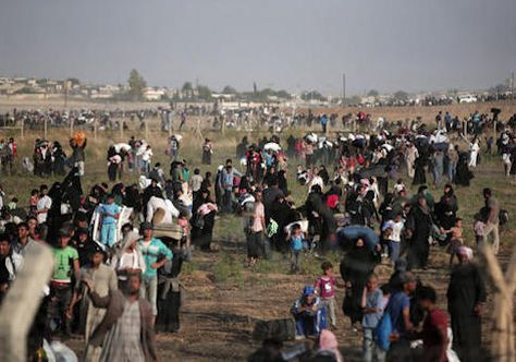 """Feds to Spend $4.6 Million to Give 'Emotional Wellness' to Refugees Funding announced just before Obama's plan to increase number of refugees by 30 percent SHARE TWEET EMAIL Obama Syrian RefugeesThousands of Syrian refugees walk to cross into Turkey / AP BY: Elizabeth Harrington September 14, 2016 3:00 pm The Obama administration plans to spend $4.6 million next year on health promotion and """"emotional wellness"""" for refugees as President Obama plans a 30 percent increase in"""