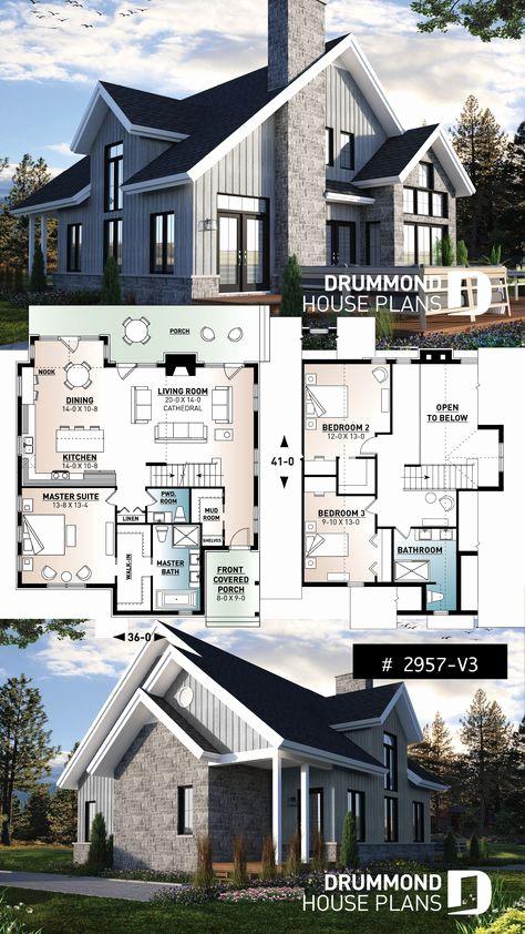 Traditional Scandinavian House Plans