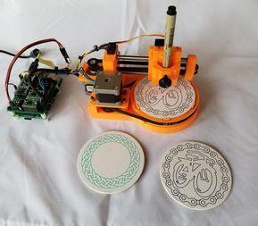 Polar Coaster Drawing Machine By Bartdring Thingiverse