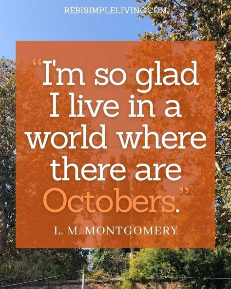 25 Beautiful October Quotes to Get You Excited for Fall