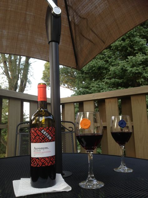 Acronym Cabernet Sauvignon 2012 - back deck acceptable for 9 dollars but not 19