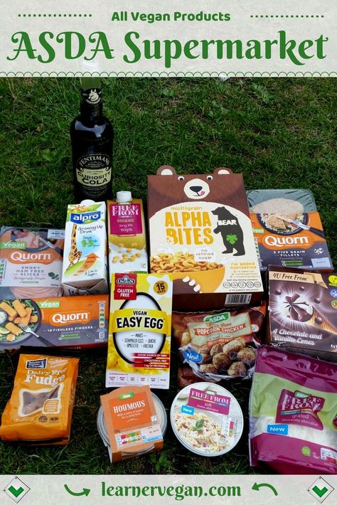All Vegan Products From Asda Supermarket Uk Some Good And
