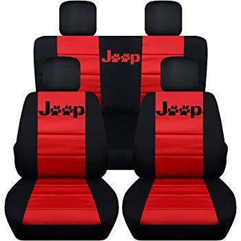 Amazon Com Designcovers 2011 2018 Jeep Wrangler Jk Two Tone Seat