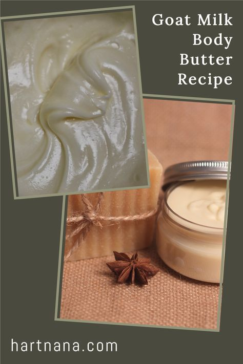 This homestead hack to create whipped body butter blew me away the first time I made it. It's a simple DIY craft, that only takes a few minutes and can be made with stuff you either have on hand or can grab at your local store. #hartnana Whippedbodybutter #DIYcraft