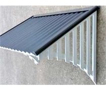 DIY Corrugated Colorbond Window Awnings With Or Zincalume Roof Sheets Will Look Great On Any Home