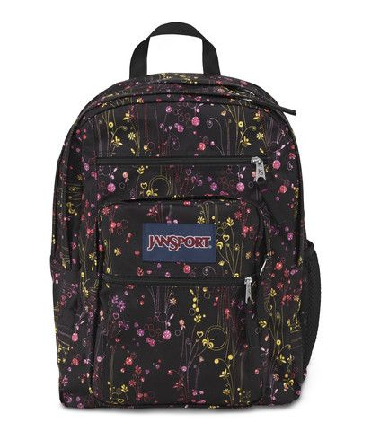 Jansport Big Student Backpack - Multi Climbing Ditzy Available at  www.canadaluggagedepot.ca  788a7276cb306