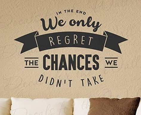 """Today someone reminded me of a quote that I heard a few years ago, but something that I definitely needed to hear. The quote were: """"In the end, we only regret the chances that we don't take"""". It reminded me of how many things I wanted to do but never did because I was afraid of failure and afraid of what other people would say. #girlboss #girlbosshabits #girlbosshabitschallenge #growthmindset #grow #growth #chance #success #inspire #motivate #tipoftheday"""