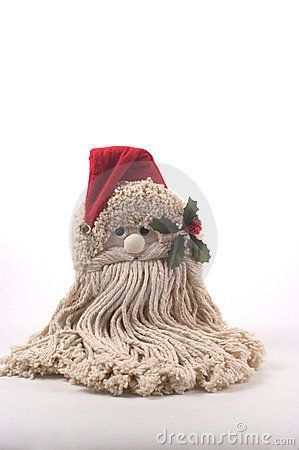 Does anyone know where I can find instructions for this specific Santa mop head project? I've been unable to find anything except the image in my searches. Santa Crafts, Christmas Ornament Crafts, Christmas Gnome, Christmas Projects, Holiday Crafts, Christmas Decorations, Kids Christmas, Dyi Crafts, Christmas Stuff