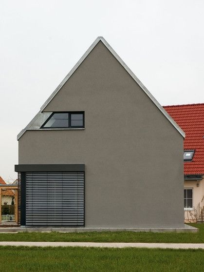 186 Best Satteldach Haus Images On Pinterest | Modern Homes, Facades And  Gable Roof