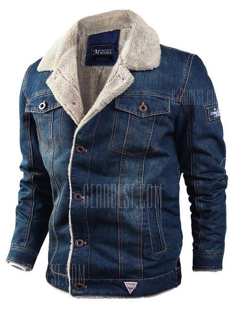 Lapel Plus Men's Winter Thick Casual Jacket Velvet Loose 08mPywvNOn