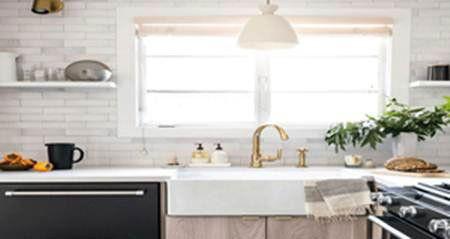 نظمي ديكور منزلك مثل المنازل الفخمة حتي وان كانت مساحته صغيرة Kitchen Remodel Small Kitchen Renovation Kitchen Design