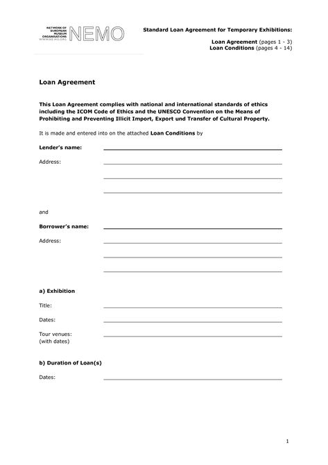 Simple Loan Agreement Form - How to draft a Loan Agreement Form