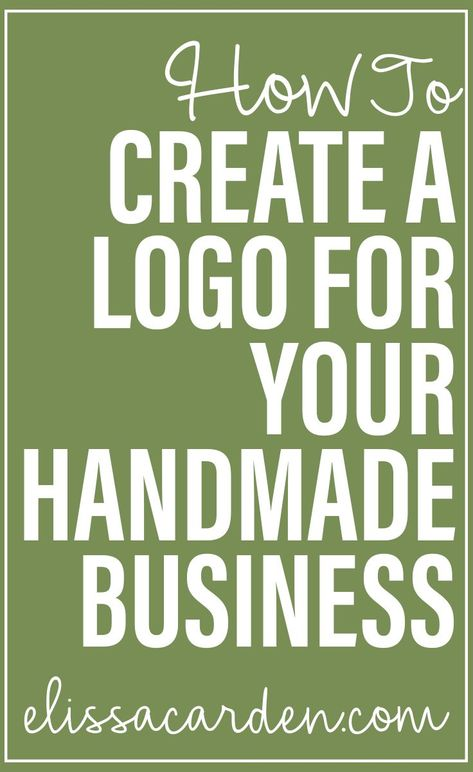 Creating A Logo for Your Handmade Business by
