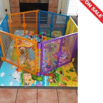 71gcmfqa33l Sy355 How To Choose The Best Baby Playpen Or Gate Playpen Playyard Childcareideas Baby Playpen Playpen Baby Needs