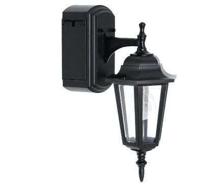 Outdoor Light With Electrical Outlet Porch Light With Modern Exterior Lighting Outdoor Lighting Porch Lighting