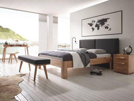 Lit Aska En Hetre Massif Hasena Fabricant Suisse Meuble Pour La Chambre Lit Design Lit Mobilier De Salon