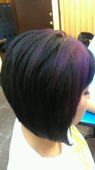 Bob haircut by me...she had a bad haircut and I fixed it. Fabulous!!