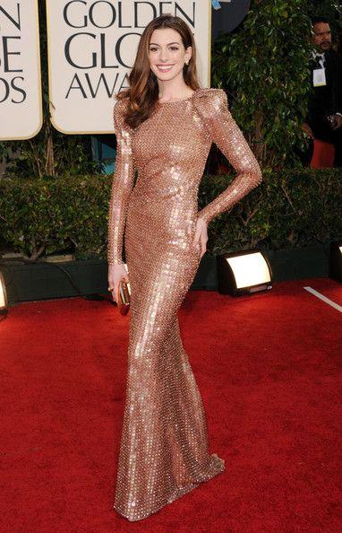 Anne Hathaway in Armani Privé at the 2011 Golden Globes - The Most Daring Red Carpet Dresses of the Decade - Photos