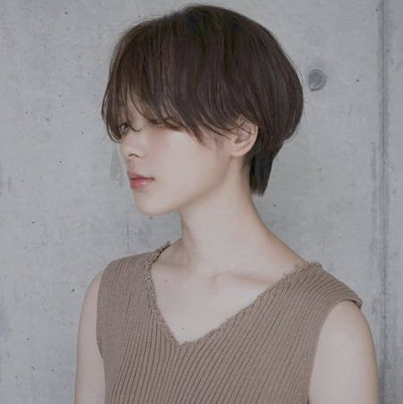 40代髪型 おすすめの ショート ヘアカタログ35選 髪型 40代 ヘア