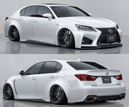 Aimgain Pure Vip Gt Aero Wide Body Kit With Trunk And Roof Spoilers Frp For Lexus Gs 4 Body Kit Wide Body Kits Lexus