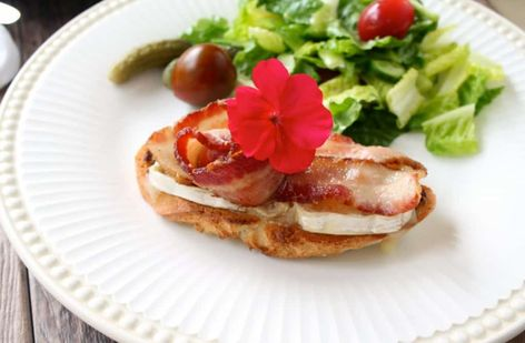 Bacon and Cheese Crostini at Christina's Cucina