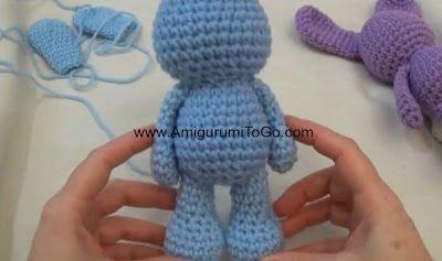 My First Amigurumi: Unicorn crochet - Tutorial step by step ...   237x400