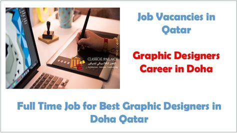 Jobs In Qatar Graphic Designer Jobs In Doha Qatar Graphic