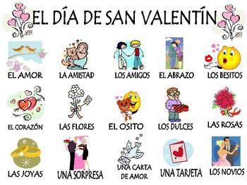 Spanish Valentine S Day Unit El Dia De San Valentin 20 Pages Elementary Spanish Teaching Spanish Spanish Lesson Plans