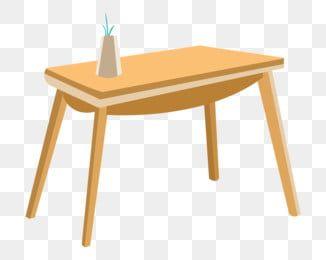 Yellow Table Flat Table Wood Table Cartoon Illustration Hand Drawn Furniture Illustration Exquisite Furniture Yellow Table Png Transparent Clipart Image And Yellow Table Wood Table Solid Wood Cabinets