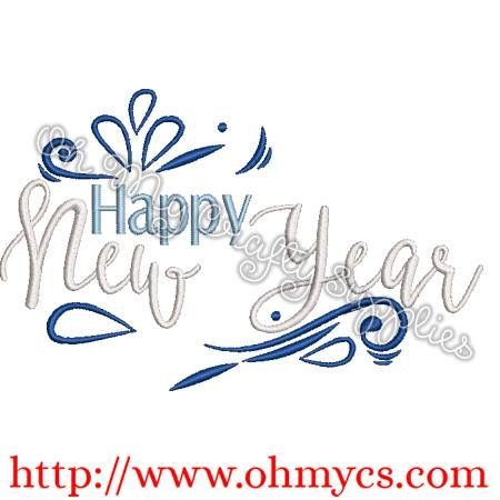 Pin By Michele Fark On Embroidery Designs Embroidery Designs Happy New Year 2019 Happy Year