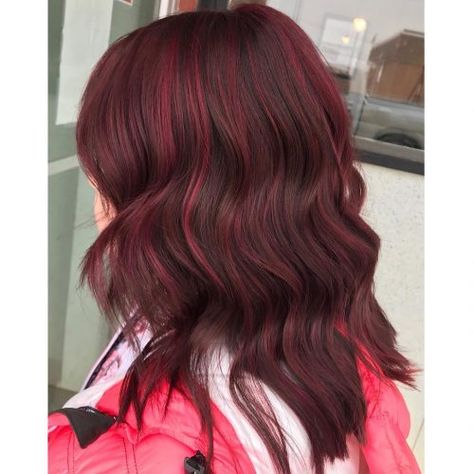 17 Greatest Red Violet Hair Color Ideas Trending In 2020 Cabello