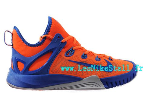 f96596e9f4c2b Officiel Nike Zoom HyperRev 2015 Chaussures Nike Basketball Pas Cher Pour  Homme Orange Bleu Girs 705370-ID3