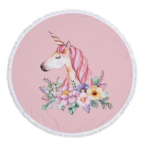 Heavenly Sweet ***Unicorn*** Beach Towel from TheSwimsuitCo. Enjoy! :)