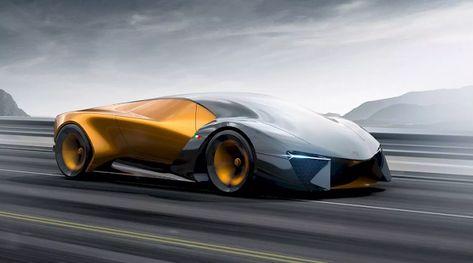Lamborghini Belador Hybrid Concept Car Html Auto Concept Cars