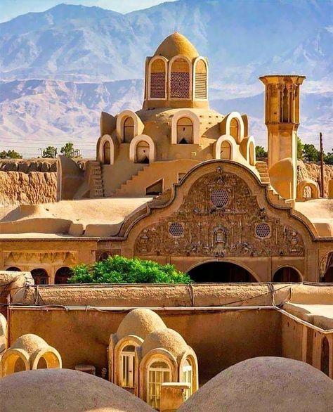House of Borujerdi Kashan - Iran - [736x910]