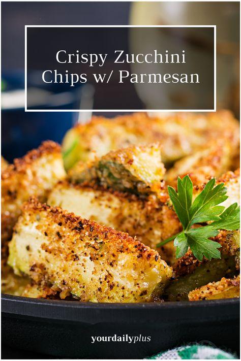 Yummy Crispy Zucchini Sticks with Parmesan Cheese Recipe