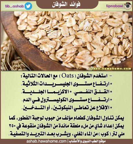 فوائد الشوفان الطب النبوي والاعشاب Health Facts Food Health Food Nutrition