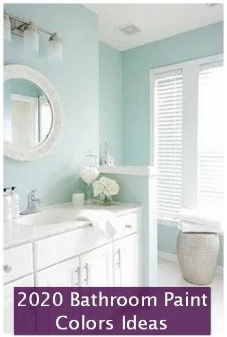 2020 Bathroom Paint Colors Ideas You Can Try Warna Ruang Tamu Ruang Tamu Rumah Desain Interior Modern