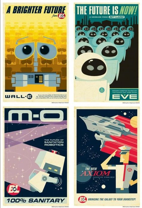 As Pixar Turns 25 - Here's The Best Alternative Posters From Their Films