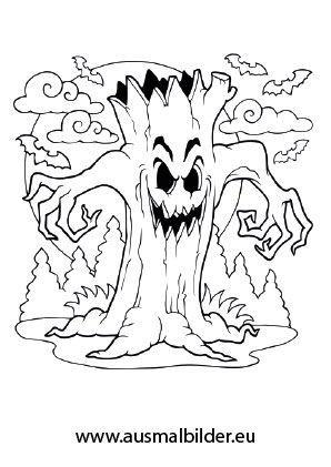 Gruselige Halloween Ausmalbilder Zum Ausdrucken 06 Ausdrucken Ausmalbilder Gruse Halloween Ausmalbilder Malvorlagen Halloween Halloween Vorlagen Ausdrucken