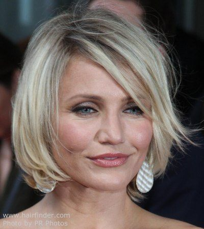 Cameron Diaz With Short Hair Cameron Diaz Short Hair Cameron Diaz Hair Hair Styles