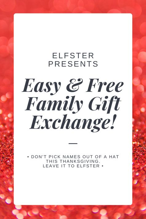 What is Elfster? The easiest, most convenient, and most