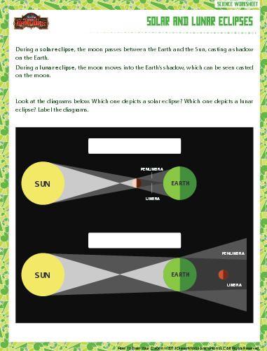 Solar And Lunar Eclipse Worksheet Download Education World Solar And Lunar Eclipse Lunar Eclipse Eclipse Kindergarten solar eclipse worksheet